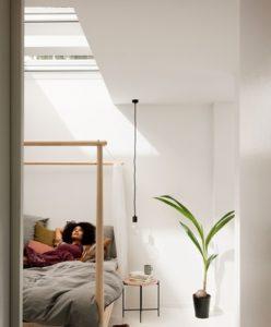Cúpula de vidrio liso VELUX para ventana de cubierta plana
